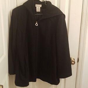 Covington hooded coat